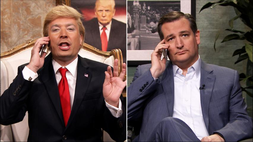 Donald Trump's Phone Call with Ted Cruz