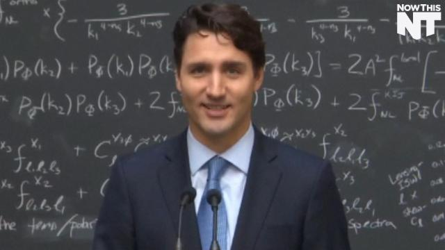Of Course Justin Trudeau Knows About Quantum Computing