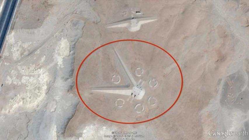 10 Of The Most Mysterious Sites Spotted Via Google Earth
