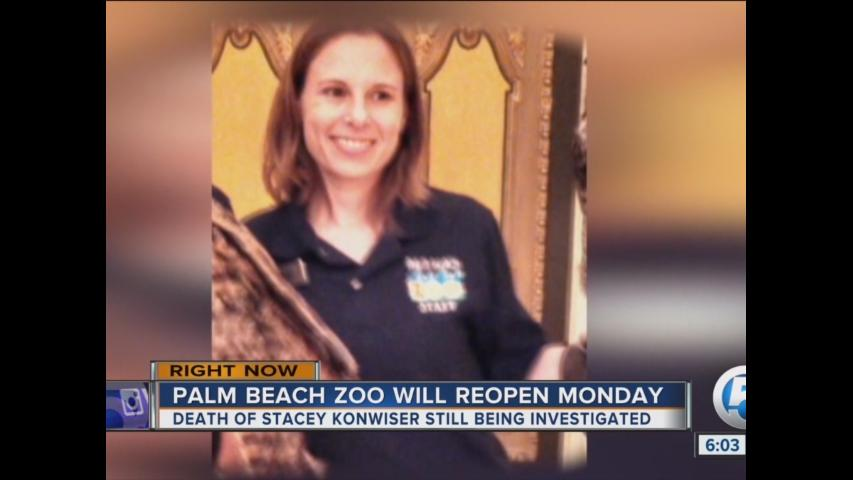Palm Beach Zoo will reopen Monday