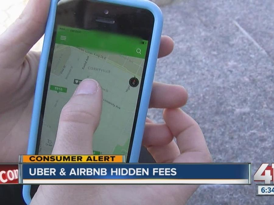 Uber and Airbnb hidden fees