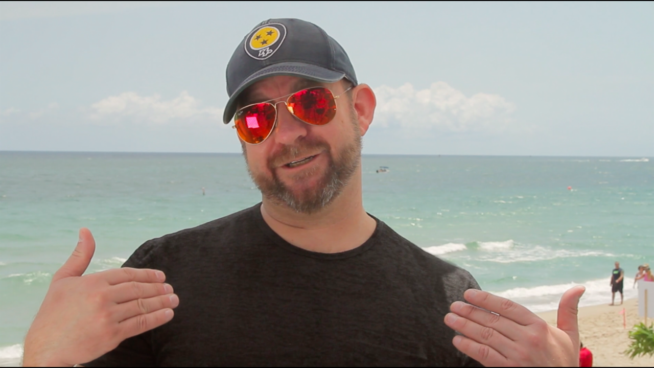 Kristian Bush talks to #KanvasLive at Tortuga Music Festival