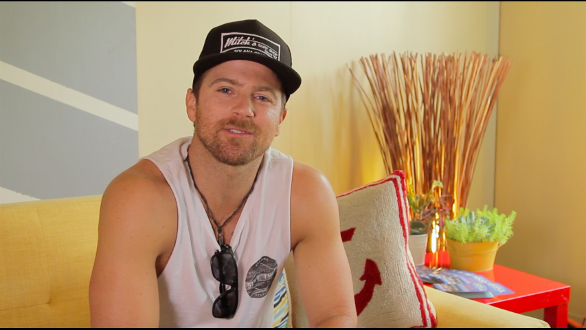 Hit country singer Kip Moore talks to #KanvasLive at Tortuga Music Festival