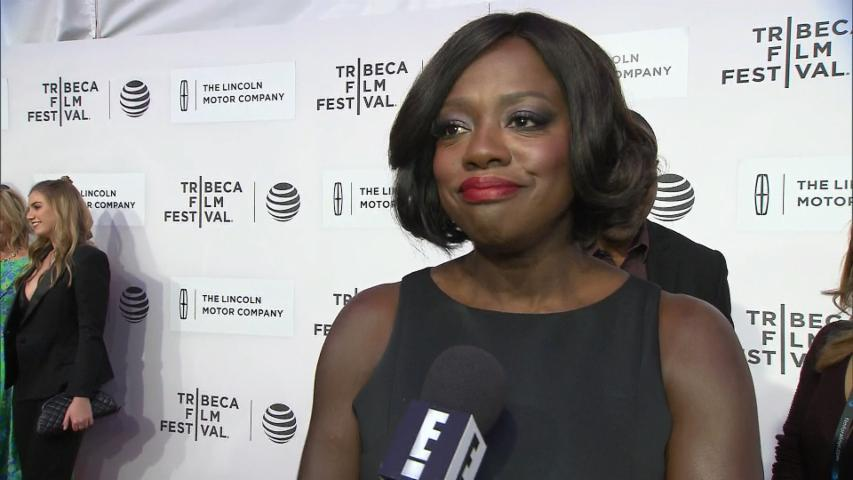Viola Davis Didn't Get Any Crazy Gifts From Jared Leto?