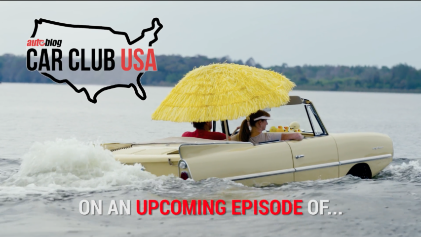 AMPHICAR SWIM IN | MOUNT DORA, FL | CAR CLUB USA