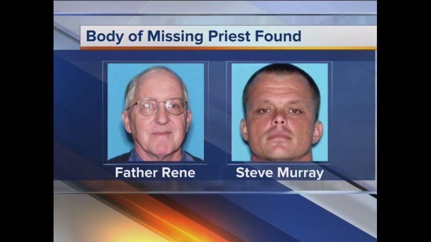 Body of missing priest found