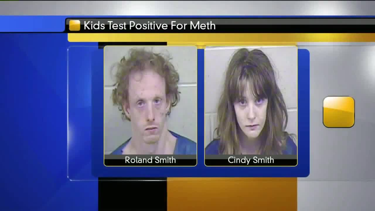 Couple Charged After Kids Test Positive for Meth