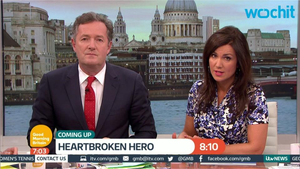 Piers Morgan Slams Victoria and David Beckham