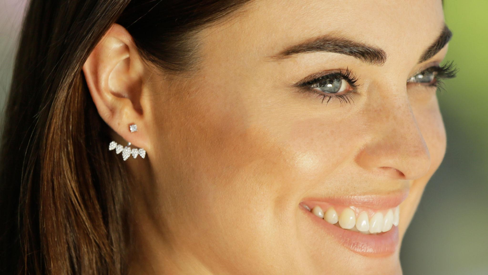 Ear Suspenders Are The New, Subtle Celeb Earring Trend