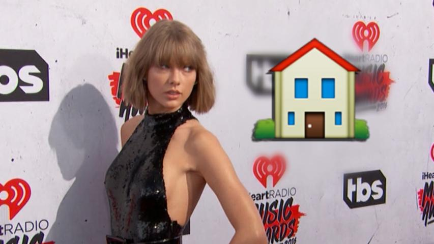 Taylor Swift Gives a Home Tour and it Gets Emojified