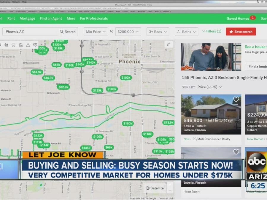 Real estate market heating up