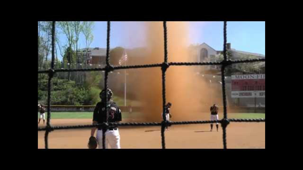 Massive 'Dust Devil' Interrupts Lynchburg Softball Game