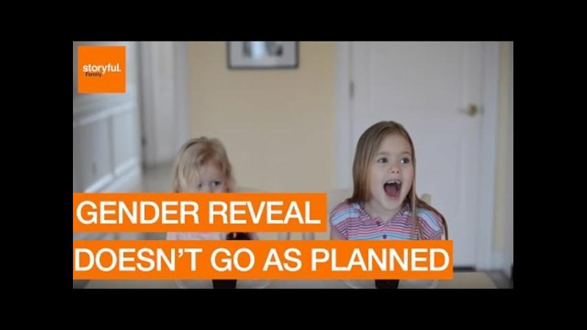 Unique Gender Reveal Doesn't Go as Planned