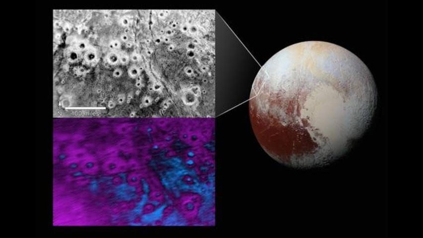 Mysterious Halo Craters Found On Pluto