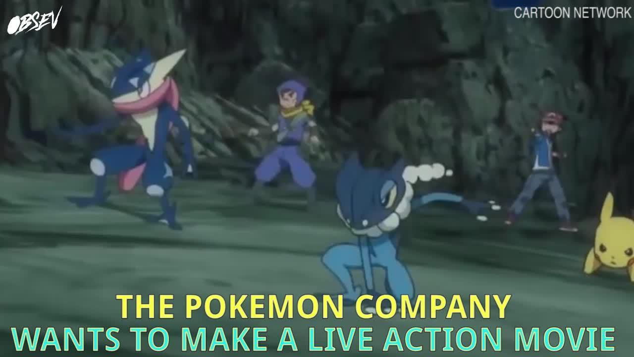 Pokemon Live Action Movie Coming Soon!