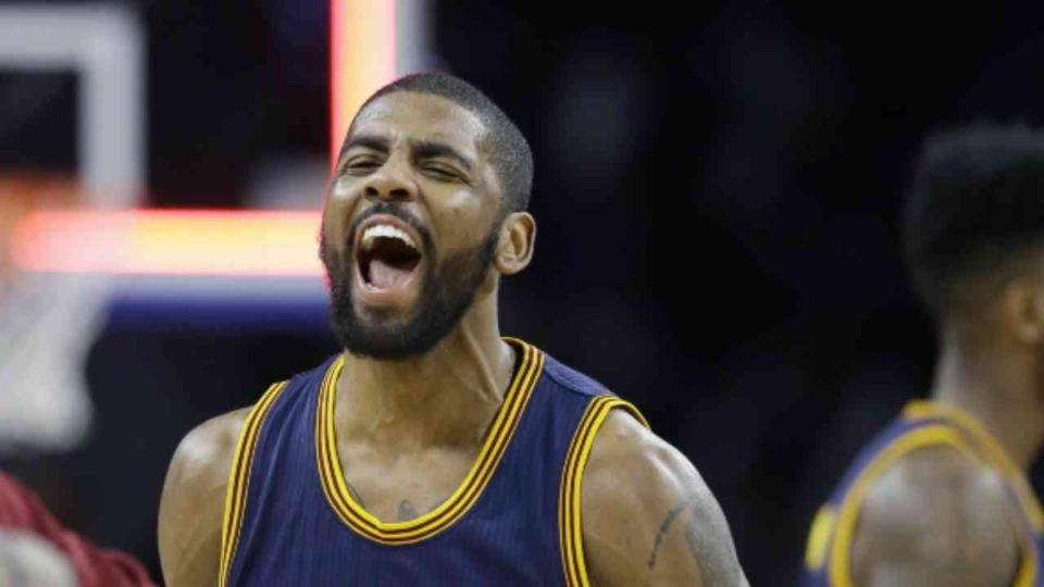 Kyrie Irving, Cavaliers Sweep Pistons