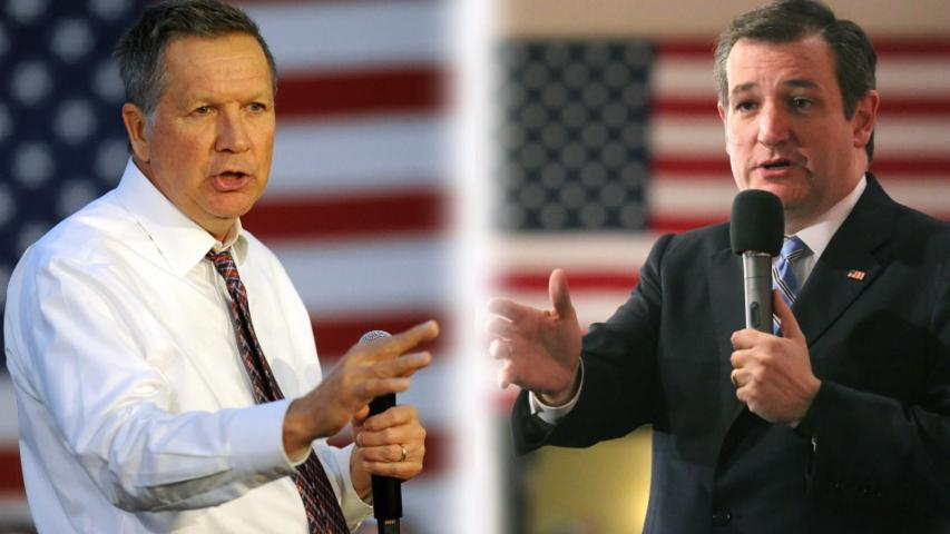 Ted Cruz and John Kasich join forces to stop Donald Trump