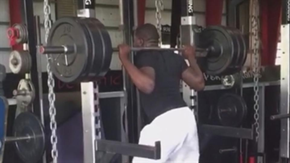 Ohio State Buckeyes QB Cardale Jones is getting work in days before the NFL draft