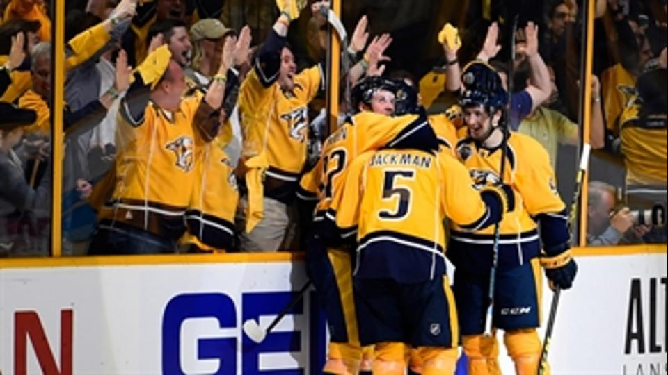 Predators drop Ducks to force franchise's first Game 7