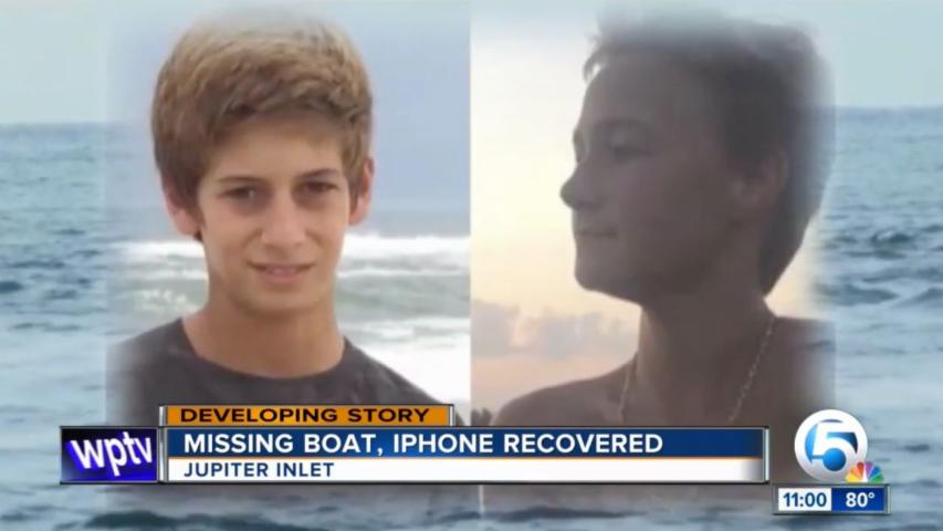 Families of Missing Florida Teens Feud Over Recovered iPhone