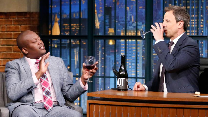Tituss Burgess and Seth Share a Glass of Pinot Noir