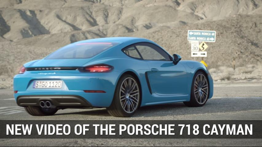 Porsche Shows Off 718 Cayman In New Video | Autoblog Minute