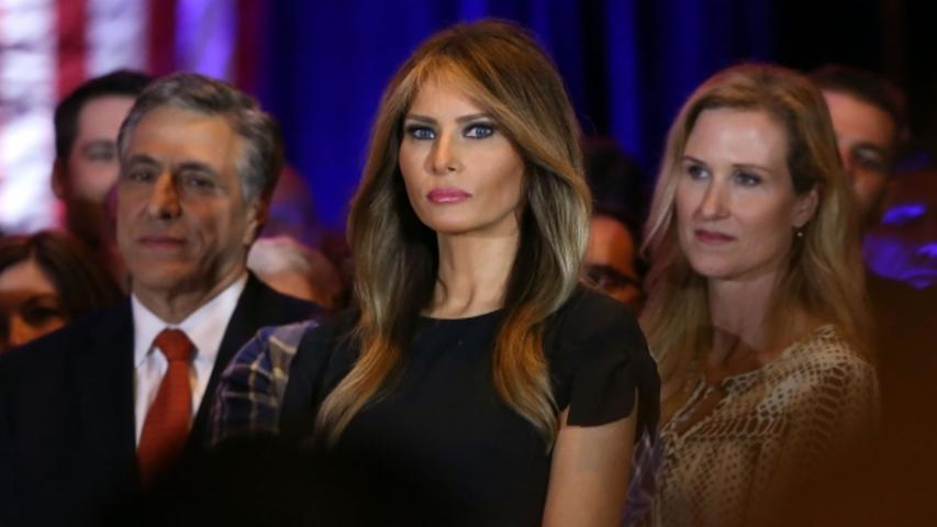 Like Her Husband, Melania Trump Doesn't Seem to Love the Media