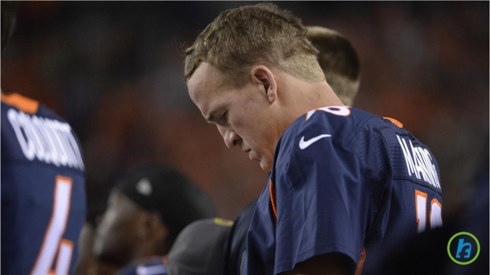 2015 Peyton Manning Suffered from Plantar Fasciatis And Many other ailments