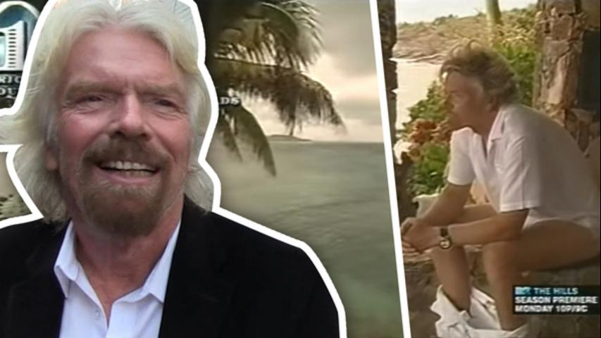 Richard Branson Knows How To Spend His Money!