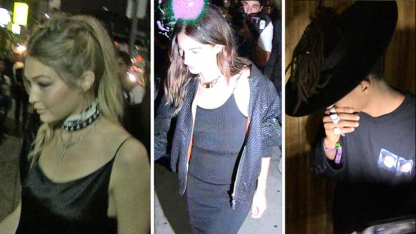 Gigi Hadid's Party -- All The Celebs Show Up To Party
