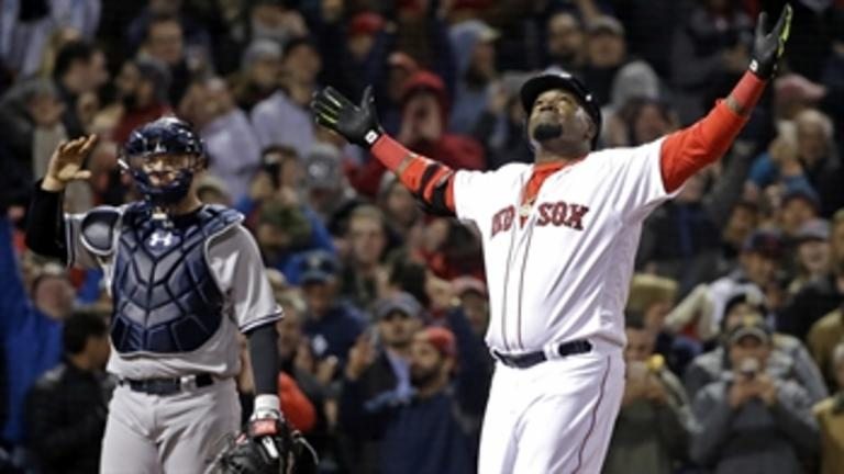 David Ortiz fulfills promise to ill child with game-winning homer against Yankees