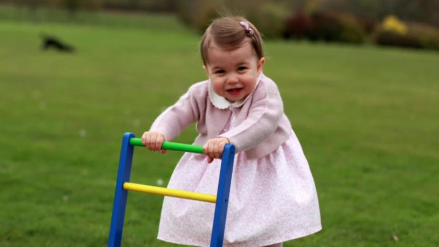 New Princess Charlotte photos released ahead of her 1st birthday