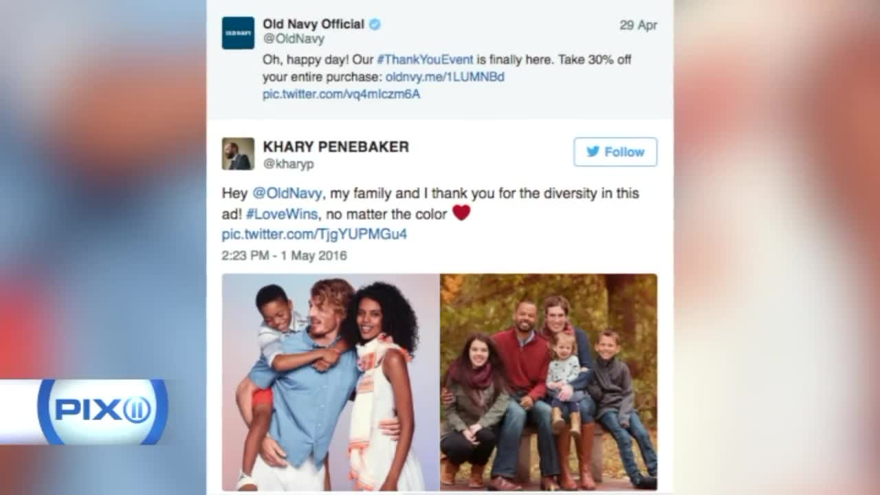 Old Navy Ad Featuring Interracial Couple Sparks Controversy On Twitter