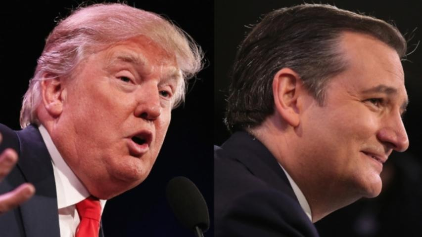 Trump on Considering Cruz for SCOTUS: 'I'd Have to Think About It'