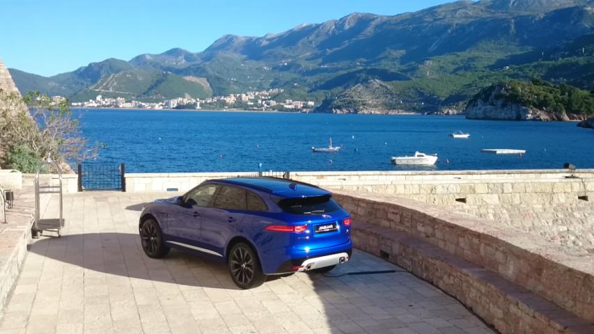 Driving the F-Pace through Montenegro | On Location