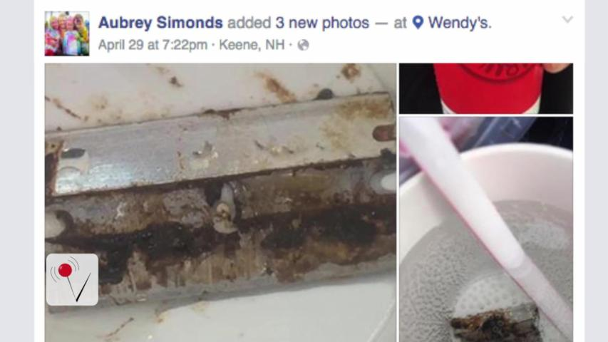 Razor Blade Found in Wendy's Soda Cup