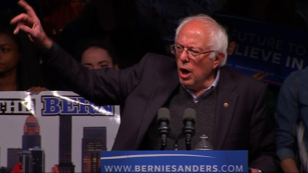 Sanders Goes After Clinton, Trump After Primary