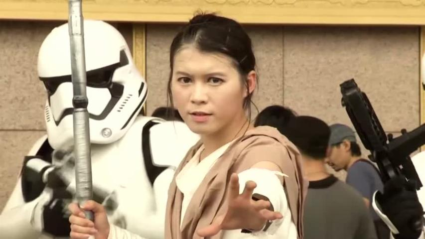 Fans Celebrate 'Star Wars' Day in Taiwan
