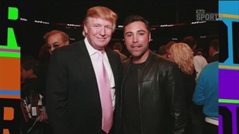 Oscar De La Hoya says Donald Trump cheats at golf - 'TMZ Sports'
