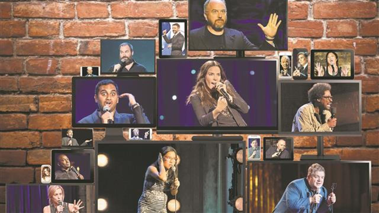 Streaming Sites Put Spotlight on Stand-Up Comedy
