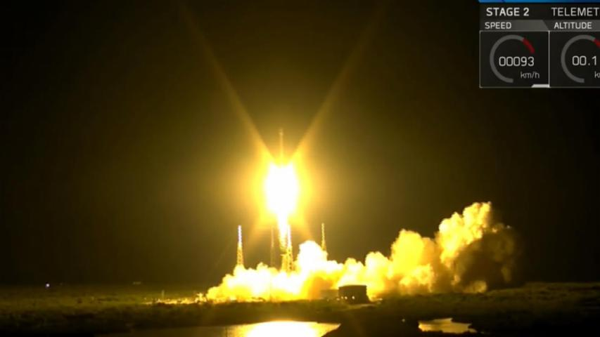 SpaceX Launches Falcon 9 Rocket, Lands Successfully