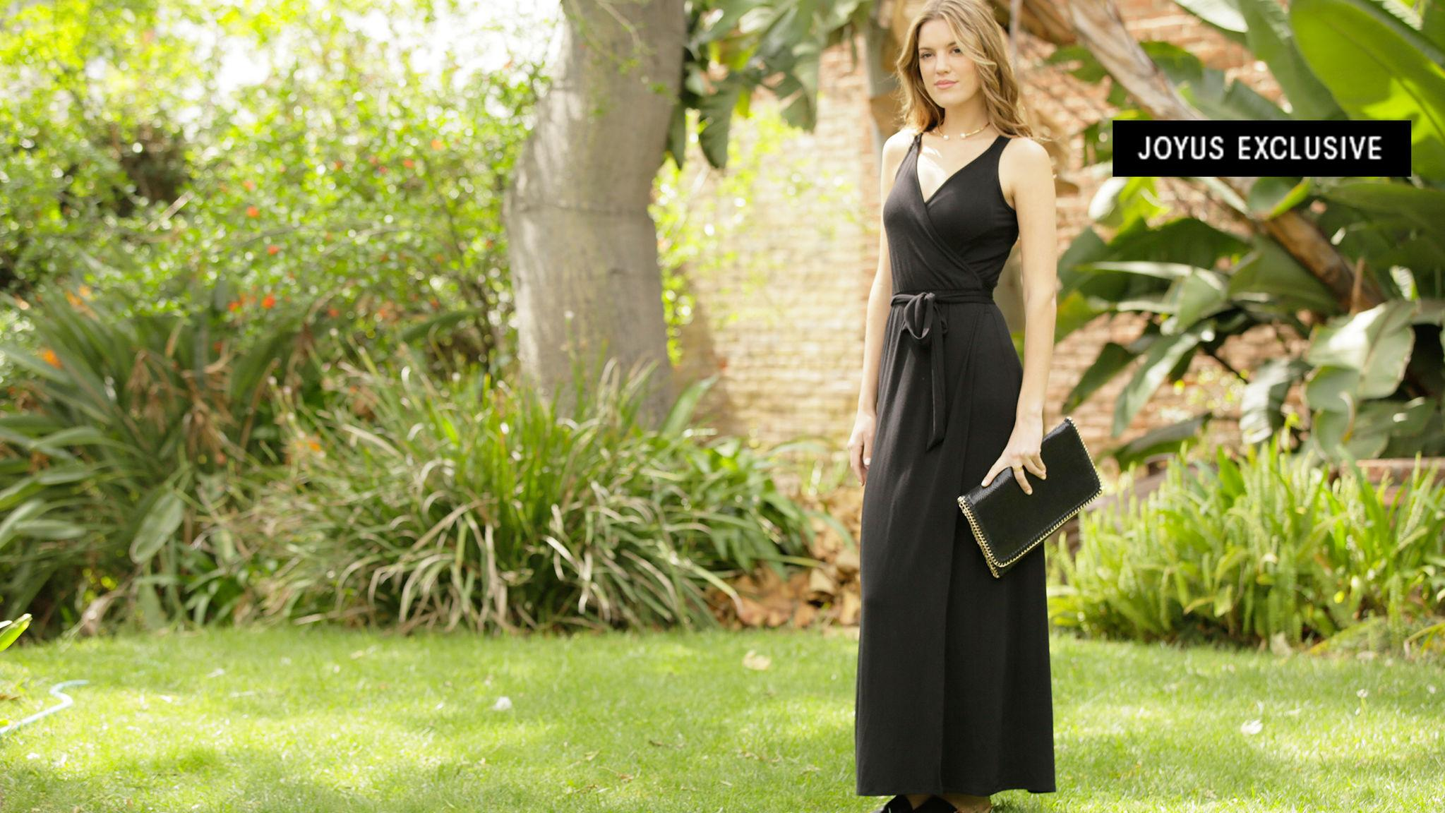Wrap Meets Maxi in This Ultimate Summer Dress