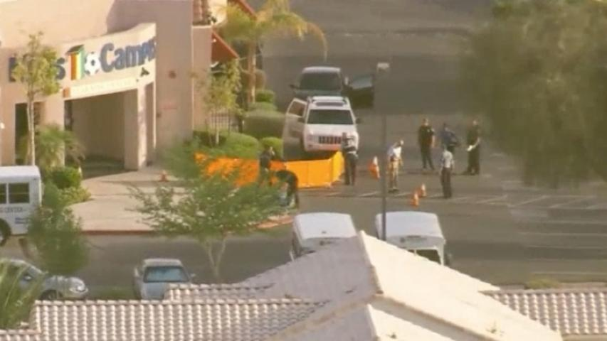 Shooting in Las Vegas Day Care Parking Lot Kills 2 Adults, Hurts Kids