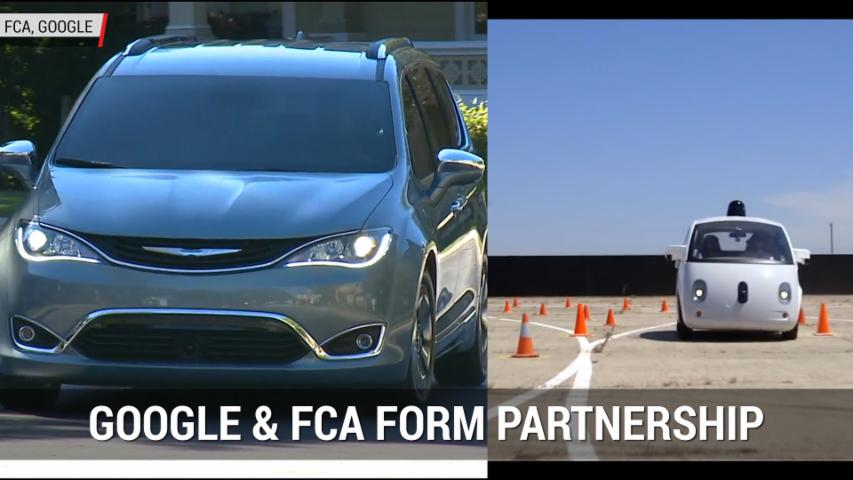 Google And FCA To Build Self-Driving Minivans In Partnership | Autoblog Minute