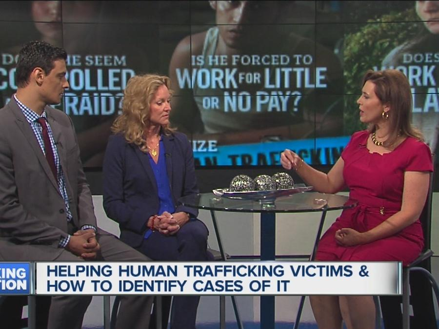 Helping Human Trafficking Victims