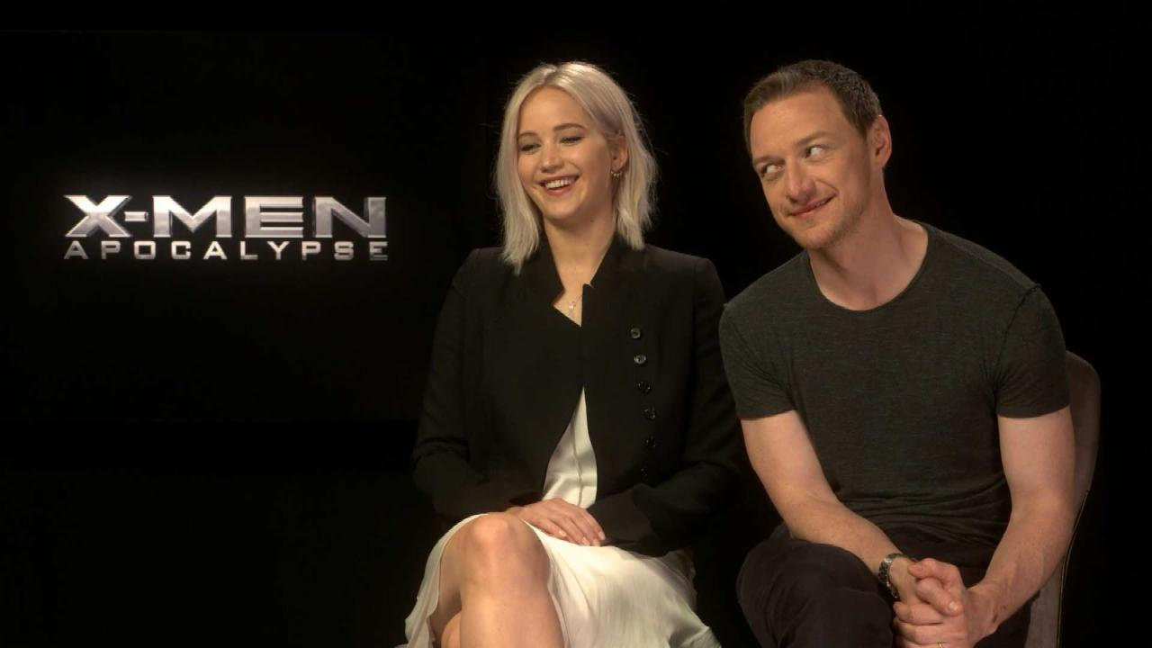 Jennifer Lawrence Talks Sex Scene with Chris Pratt