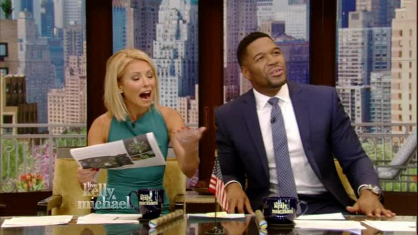 """LIVE with Kelly and Michael"": Snakes Mating"