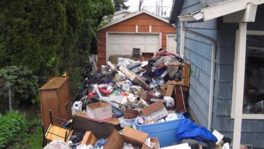 Home Owner Finds 50,000 Pounds Of Trash Allegedly Left Behind By Former Tenants