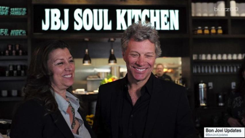 "Jon Bon Jovi Helps Those ""Livin' On A Prayer"""