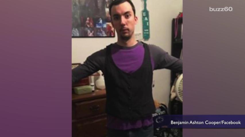 Boyfriend Tries on Girlfriend's Clothes, Notices Absurd Nature of Sizing